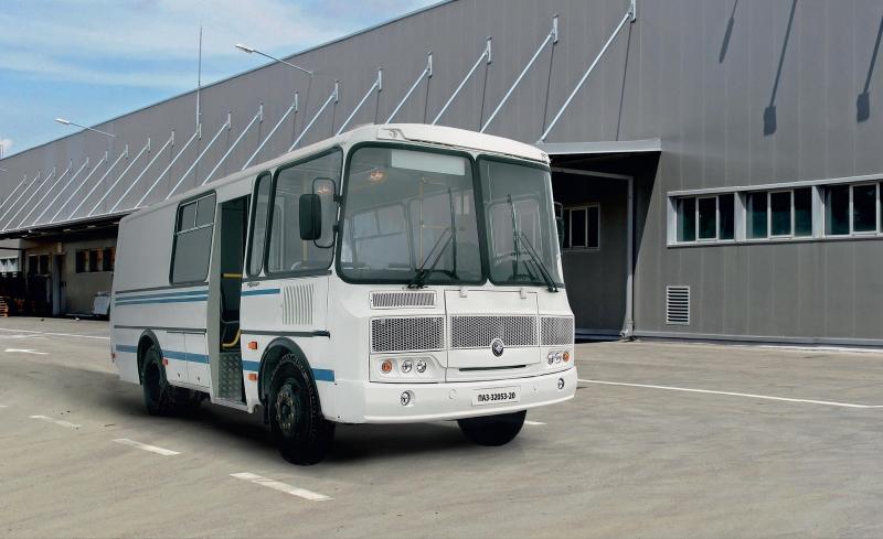 ПАЗ-32053-20 (грузопассажирский)